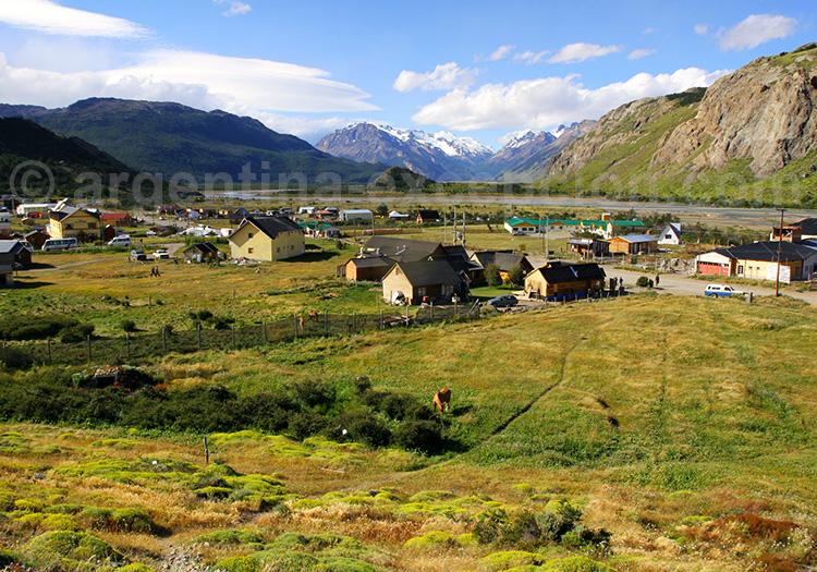 Village de El Chaltén, Patagonie argentine