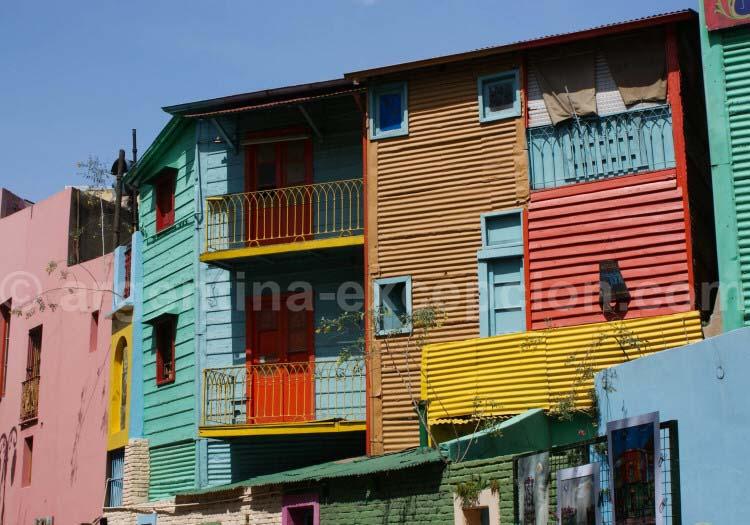 Les couleurs de La Boca