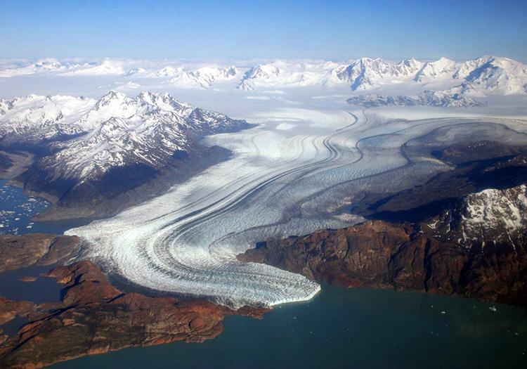 Glacier et lac Viedma