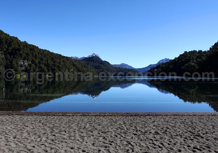Lac Espejo Chico, Route des 7 Lacs