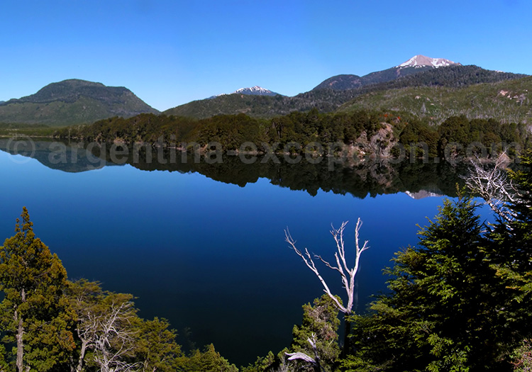 Lac Machónico, Route des 7 Lacs