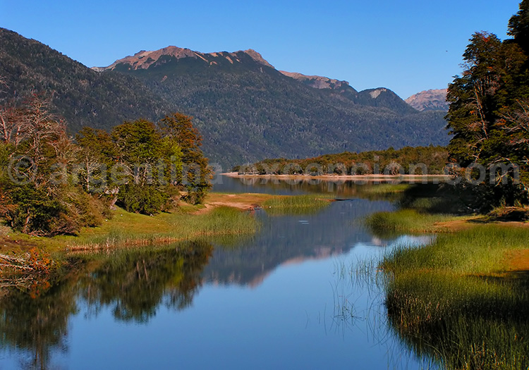 Lac Villarino, Route des 7 Lacs