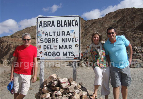 Pause photo à Abra Blanca