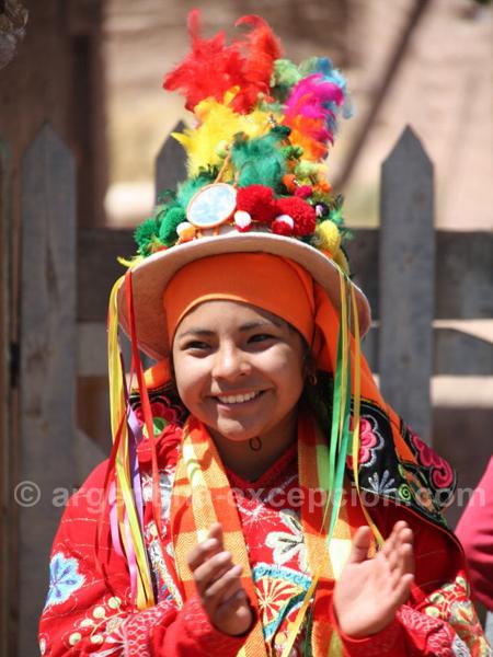 Rencontre à Uquia, vallée de Humahuaca, Jujuy