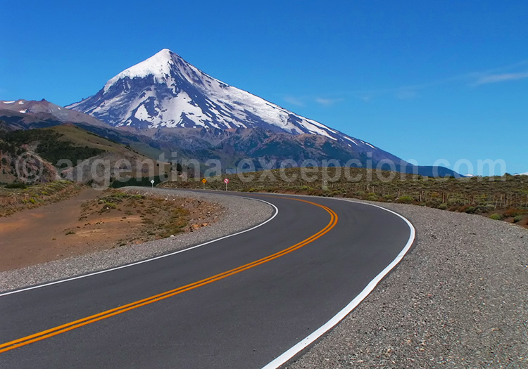 Volcan Lanín, Patagonie