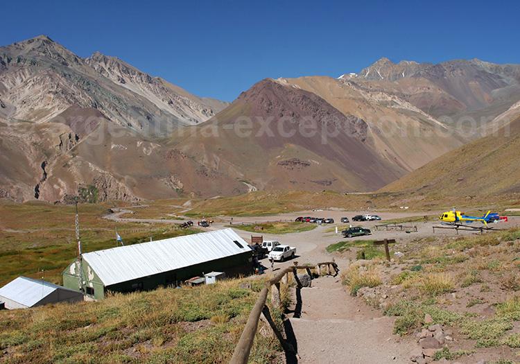 Situation géographique du parc Aconcagua