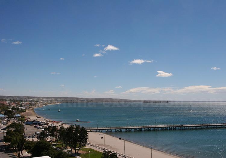 Puerto Madryn et sa plage