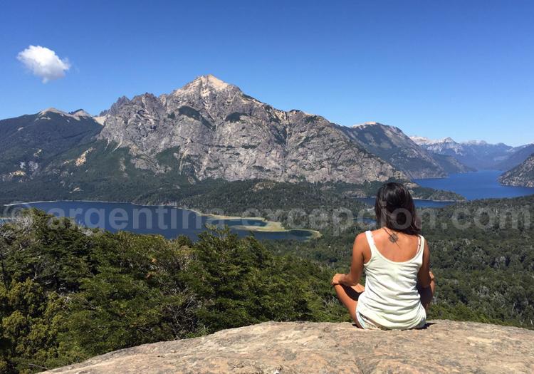 Yoga sur le Cerro Campanario