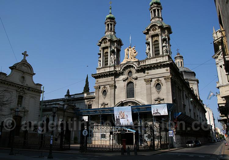 Visite de Buenos Aires, Basilique San Francisco, San Telmo