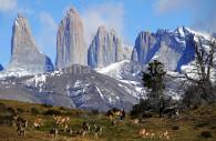 Les tours du Paine, Patagonie