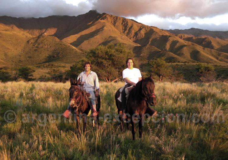 Balade à cheval à l'estancia La Constancia, Córdoba
