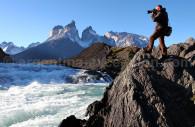 Cascade Saltos Grande, Torres del Paine