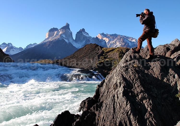 Découverte de la cascade Saltos Grande, Torres del Paine