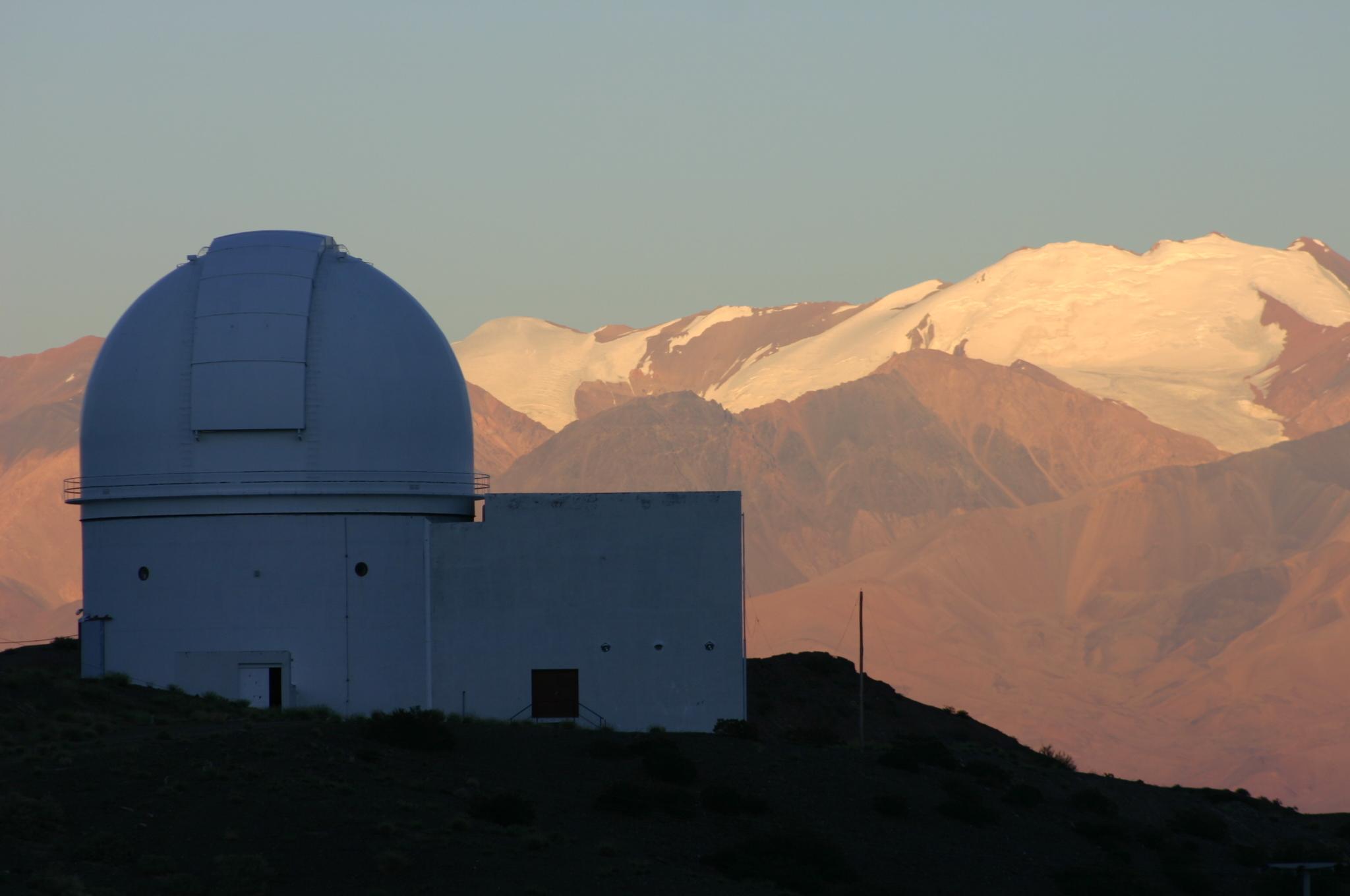 Complexe astronomique el Leoncito. Crédit Complejo Astronómico El Leoncito (CASLEO) CONICET