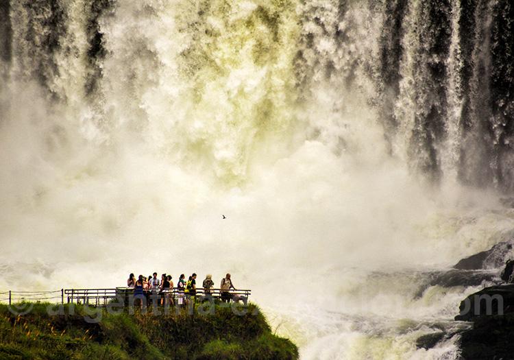 Visite des chutes d'Iguazú, Argentine
