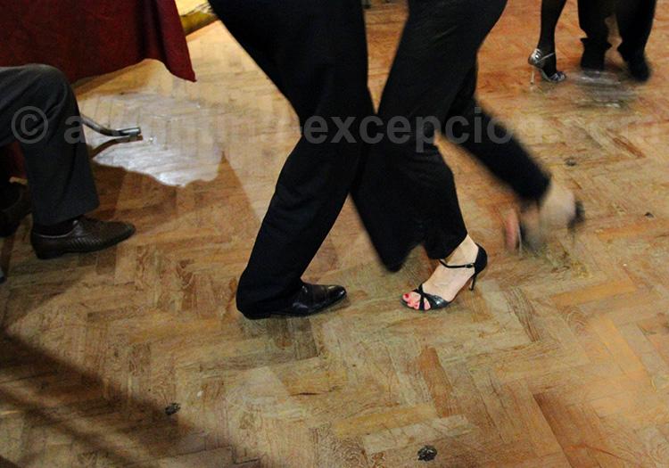 Classe de tango, Buenos Aires