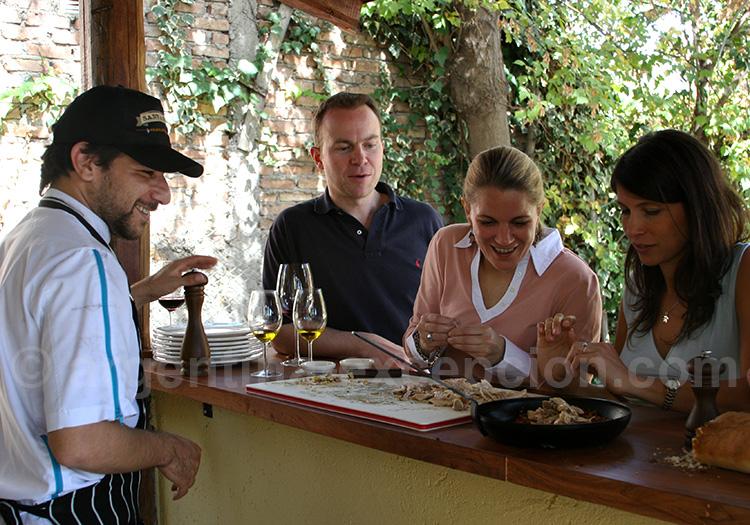 Séjour gastronomique en Argentine