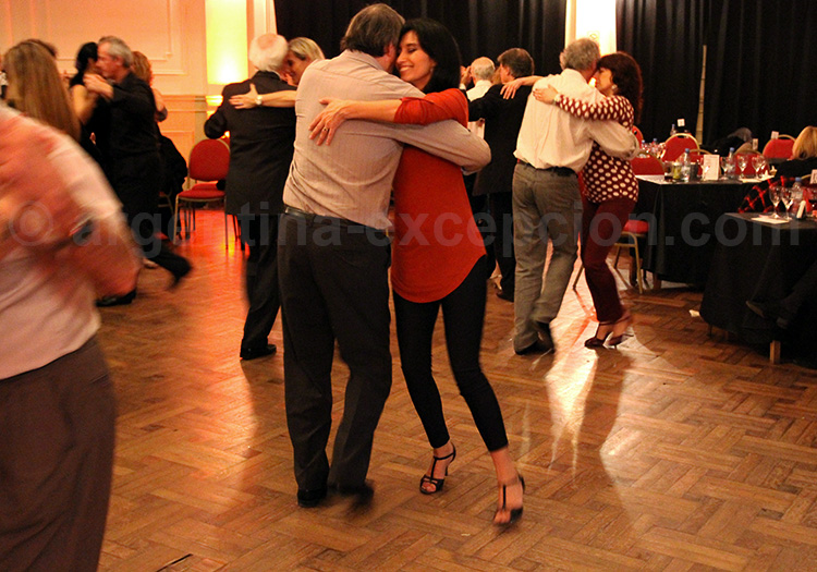 Perfectionnement au tango, Argentine