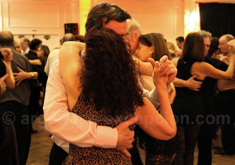 Cours de tango, Buenos Aires