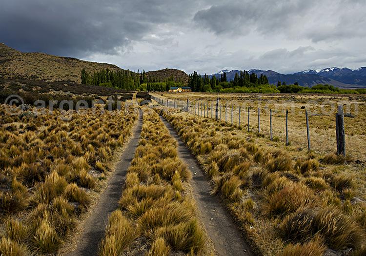 Arrivée à l'estancia La Anita, Patagonie