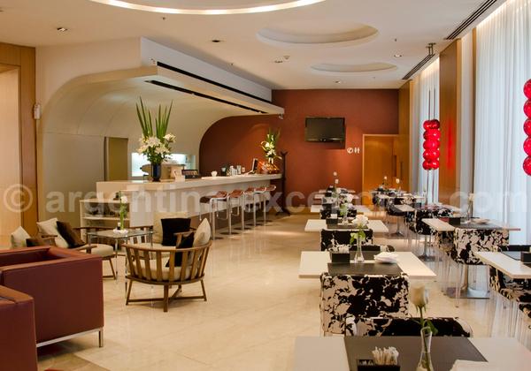 Bar restaurant, Hôtel 725 Continental