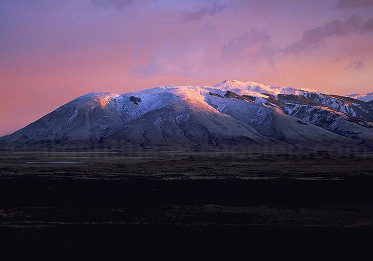 Paysage à l'estancia La Anita, Patagonie