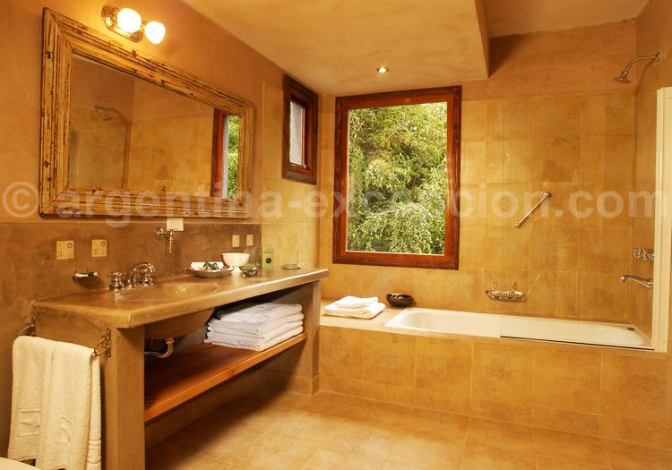 Salle de bain, Hôtel Aldebaran
