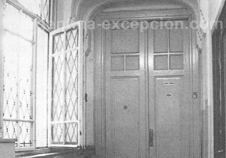 Entrée appartement Saint Exupéry, Galerie Güemes