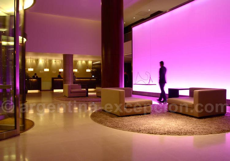 Lobby, Hôtel Madero