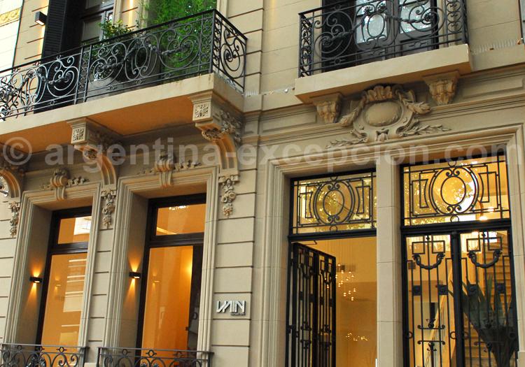 Entrée, Hôtel Boutique Vain