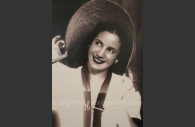 L'actrice Eva Duarte musée Evita de Buenos Aires