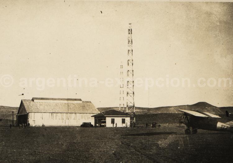Aérodrome Patagonie 1930. Archive Gilbert William Pellaton
