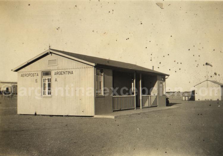 L'Aéropostale en Patagonie. Archive Gilbert William Pellaton