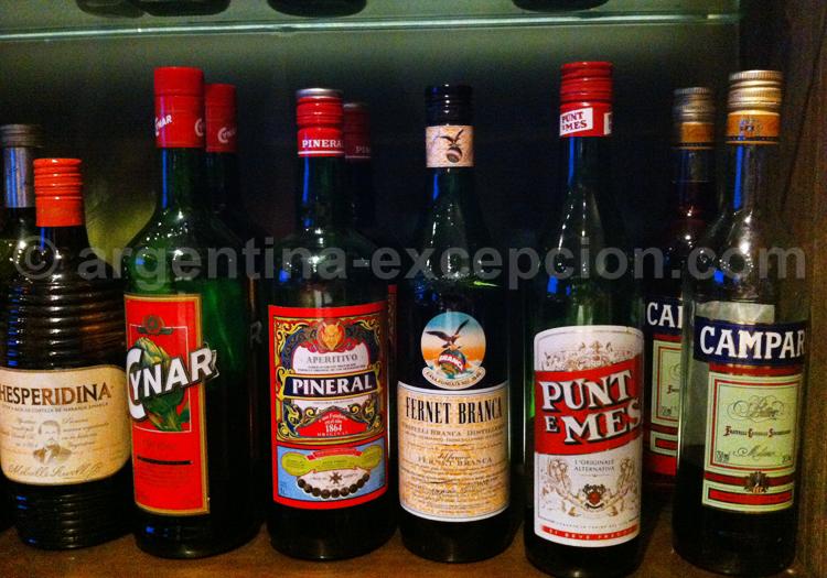 Fernet Branca et autres boissons argentines