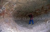 Site archéologique estancia La Maria Patagonie