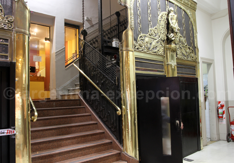Ascenseur, galerie Güemes