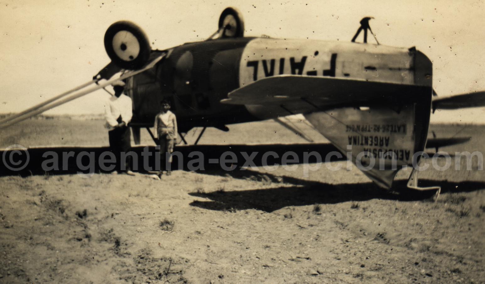 Les aventures de l'Aéropostale. Archive Gilbert William Pellaton