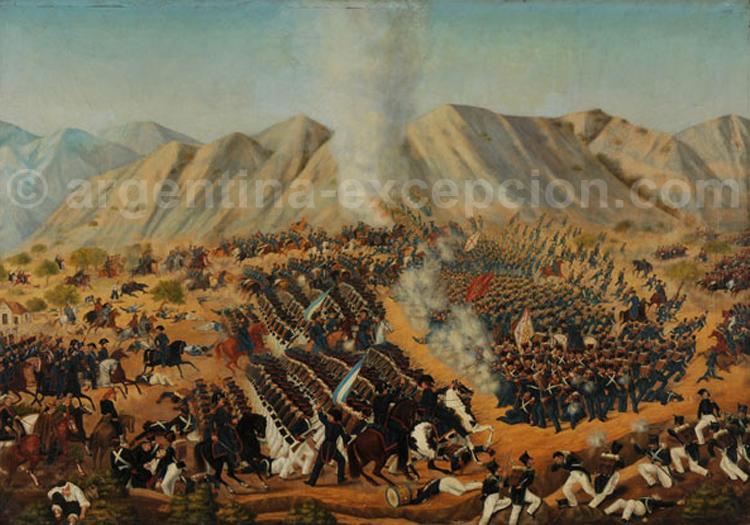 Bataille de Chacabuco - 1817, Musée Historique National, Santiago du Chili