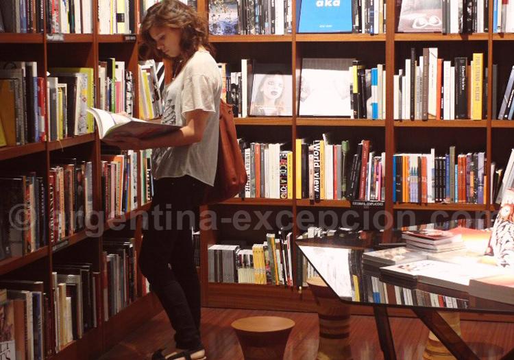 Bibliothèque du MALBA à Buenos Aires