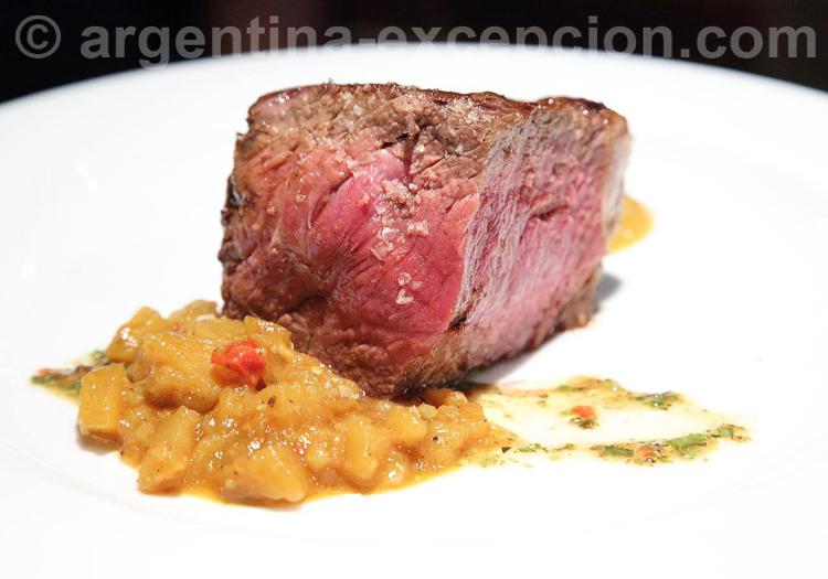 Bife de chorizo, boeuf argentin