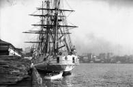 President Sarmiento's boat