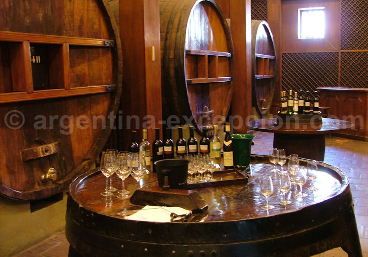 Dégustation de vins argentins