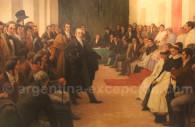 Cabildo abierto à Buenos Aires 22 mai 1810