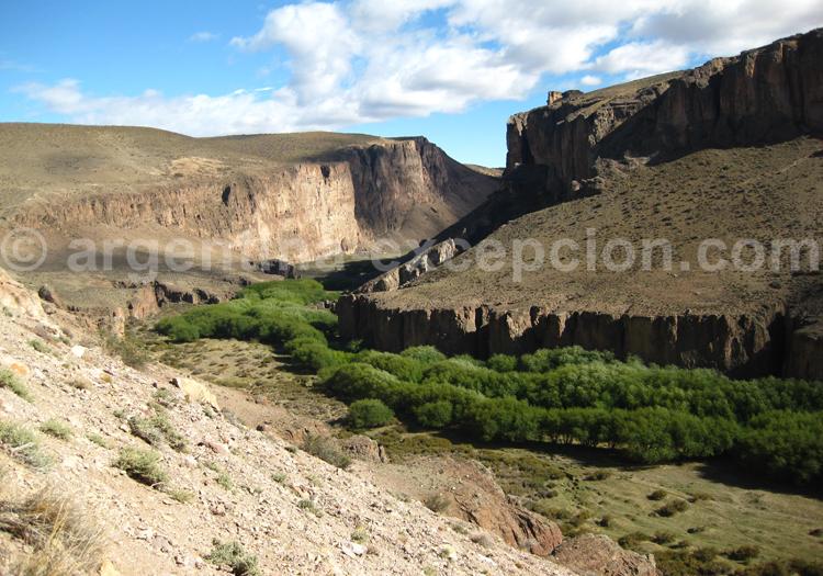 Canyon Pinturas, Patagonie, Santa Cruz
