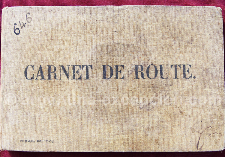 Carnet de vol, musée aéronautique de Moron