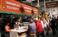 Puesto de comida, mercado de San Telmo