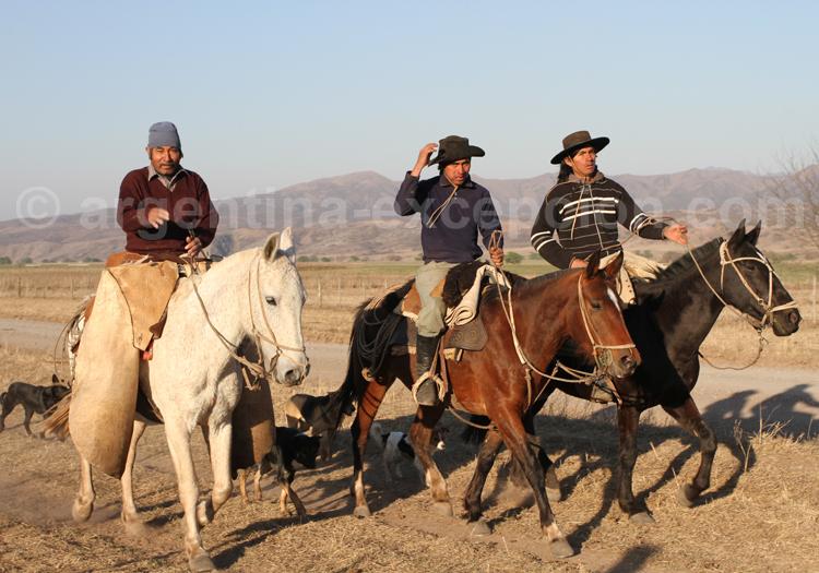 Gauchos, estancia Pampa Grande