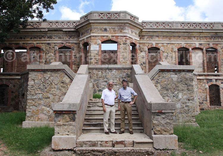 Château de San Carlos, Concordia Jorge Fuchs et Alain d'Etigny, mars 2012