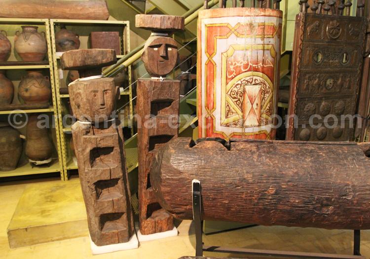 Chemamulls mapuches, musée Ambrosetti