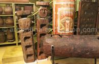 Chemamulls statues in Ambrosetti museum